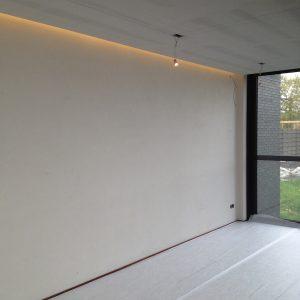 Indirecte verlichting gyproc plafond