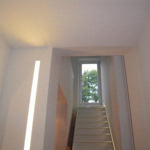 Indirecte verlichting muur