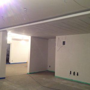 Indirecte verlichting verlaagd plafond