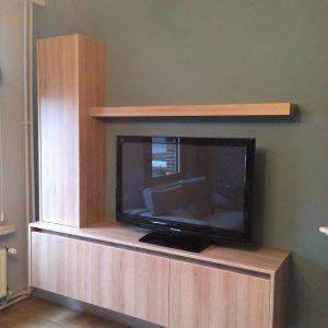 Maatwerk TV kast